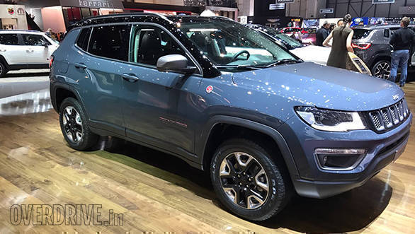 Image gallery: India-bound Jeep Compass at the 2017 Geneva Motor Show