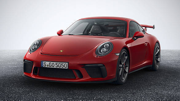 2018 porsche 911 gt3 rs. perfect porsche live updates porsche 911 gt3 launch in india with 2018 porsche gt3 rs