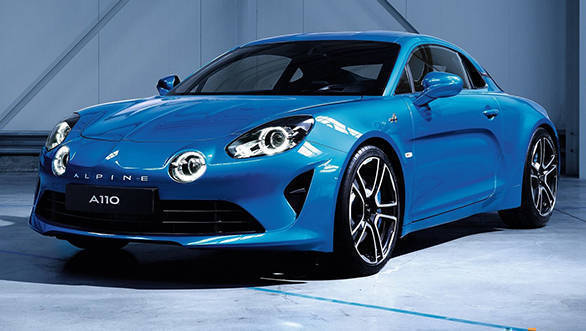 2017 Geneva Motor Show: Alpine A110 sportscar showcased