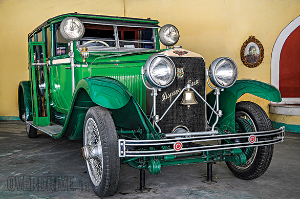 The Hispano Suiza is one of the highlights