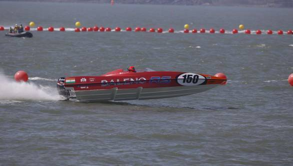 2017 Nexa P1 Powerboat Championship: Sam and Daisy Coleman score 40 points after a double win