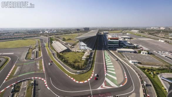 Buddh International Circuit BIC Maruti Suzuki Baleno RS drive