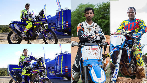 Collage TVS Racing announces Team for Indian Baja 2017