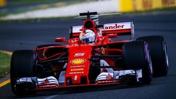 F1 2017: Sebastian Vettel wins Australian GP for Ferrari