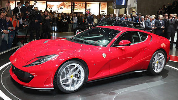 Image gallery: 2017 Ferrari 812 Superfast at the Geneva Motor Show