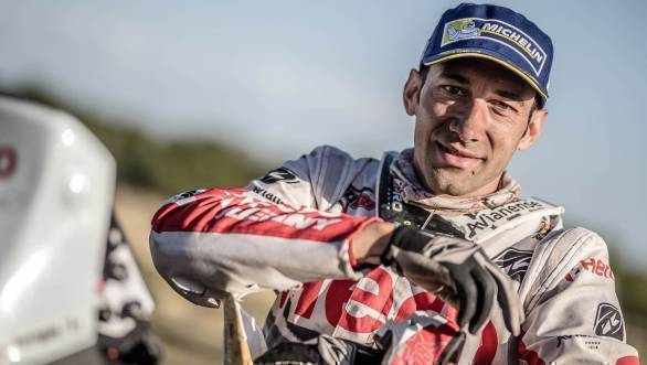 Hero MotoSports Team Rally's Joaquim Rodrigues to compete in 2017 India Baja