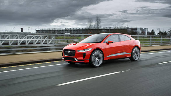 Jaguar does it again, with the most lovely  electric vehicle  ever made