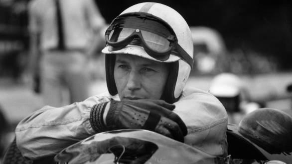 Surtees was Formula 1 world champion for Ferrari in 1964