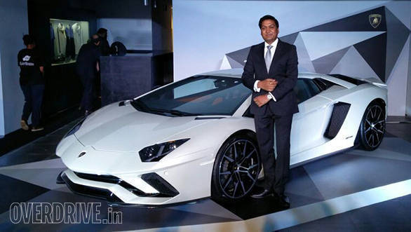 lamborghini aventador s launched in india at rs 5.01 cr - overdrive
