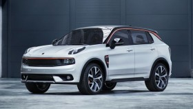 Geely's Lynk & Co crossover debuts at the 2017 Shanghai Motor Show