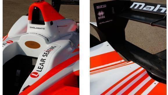 Omologato branding will feature on Mahindra Racing M3Electro
