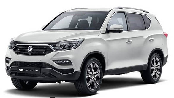 Ssangyong reveals next-gen Rexton ahead of 2017 Seoul Motor Show