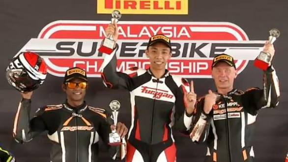 2017 Malaysian Superbike Championship: Double podium for K Rajini at Round 1