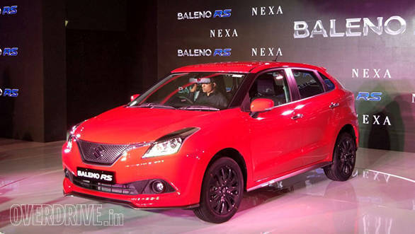 Maruti Suzuki Baleno RS Launch (1)