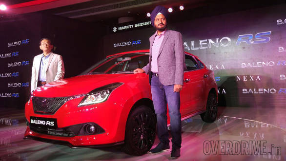 Maruti Suzuki Baleno RS Launch (3)