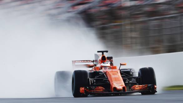It's -   /><span>It's going to be another long and painful year for the McLaren team if the results of the first test are anything to go by</span></p> <p>Honda, the team's engine supplier for the last two seasons, claims that they're able to ensure exactly that much-needed change. They've redesigned their power unit, while McLaren engineers have redone the chassis. Overall, there was word from within the team that the combination will be effective in 2017. And the one man who was hoping that this would be true was Fernando Alonso. Alonso is joined at McLaren by Stoffel Vandoorne - the most celebrated rookie in F1 since Max Verstappen - who replaces Jenson Button. But things didn't go very well for McLaren during testing. A time of 1min 22.576sec is all that McLaren could manage, courtesy Vandoorne on Day 4. Which also means that McLaren ended up second last on the timing sheets, and also in terms of number of laps completed. This does not bode well for the Woking based team. It looks like the orange livery is the only thing fiery the team has on offer this year!</p> <h3>Scuderia Toro Rosso</h3> <p>Another team with a year that they'd really like to put behind them once and for all. Scuderia Toro Rosso's STR12 might be a good looking car, but is it really the car they need to help them put a dismal 2016 season behind them? It doesn't look like it is, even with the new Renault engine.</p> <p class=