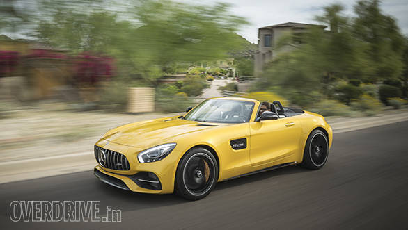 2017 Mercedes-AMG GT Roadster first drive review