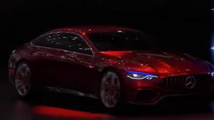 Mercedes-AMG GT Concept previews new four door grand tourer at 2017 Geneva Motor Show