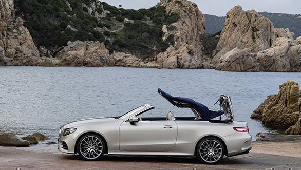 New gen Mercedes Benz E Class Cabriolet revealed Overdrive