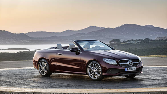 New-gen Mercedes-Benz E-Class Cabriolet revealed