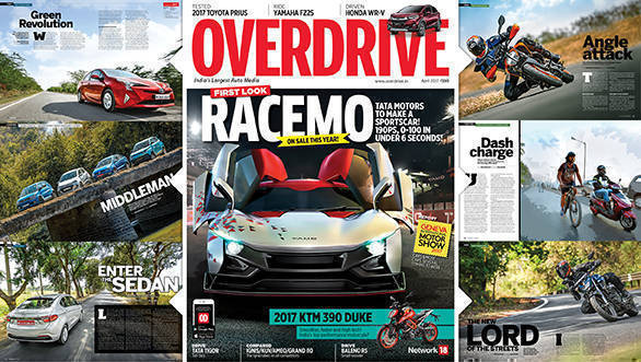 The April 2017 issue of OVERDRIVE is now out on stands!