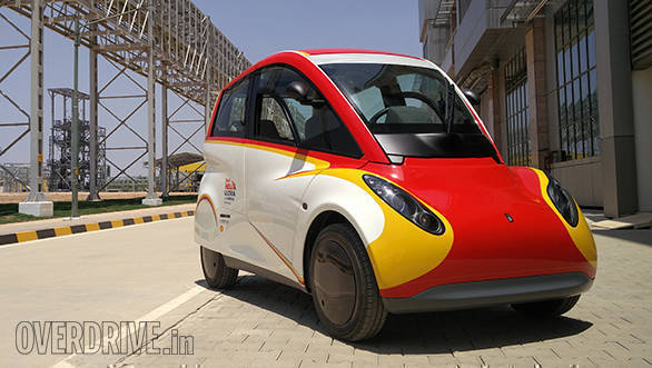 Shell concept car first drive review