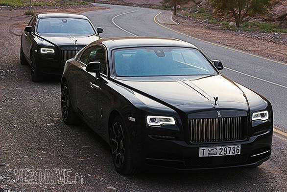 Rolls-Royce Black Badges Wraith and Ghost