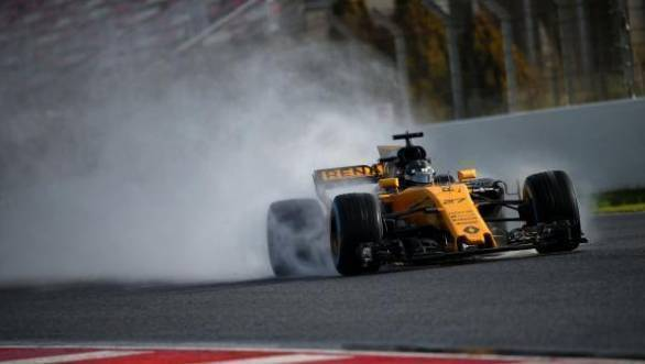 Renault Sport F1 testing 2017 Barcelona