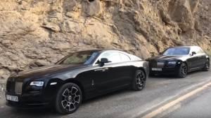 2017 Rolls-Royce Wraith & Ghost Black Badge walkaround