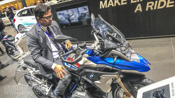 Bert is patiently waiting for BMW Motorrad to launch in India