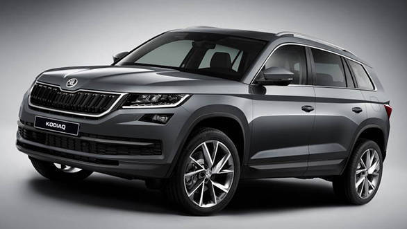 Skoda Kodiaq India launch set for October 4, 2017