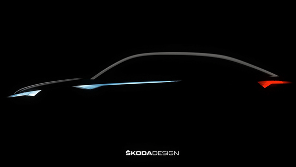 Skoda teases coupe-SUV concept likely to be called Vision E