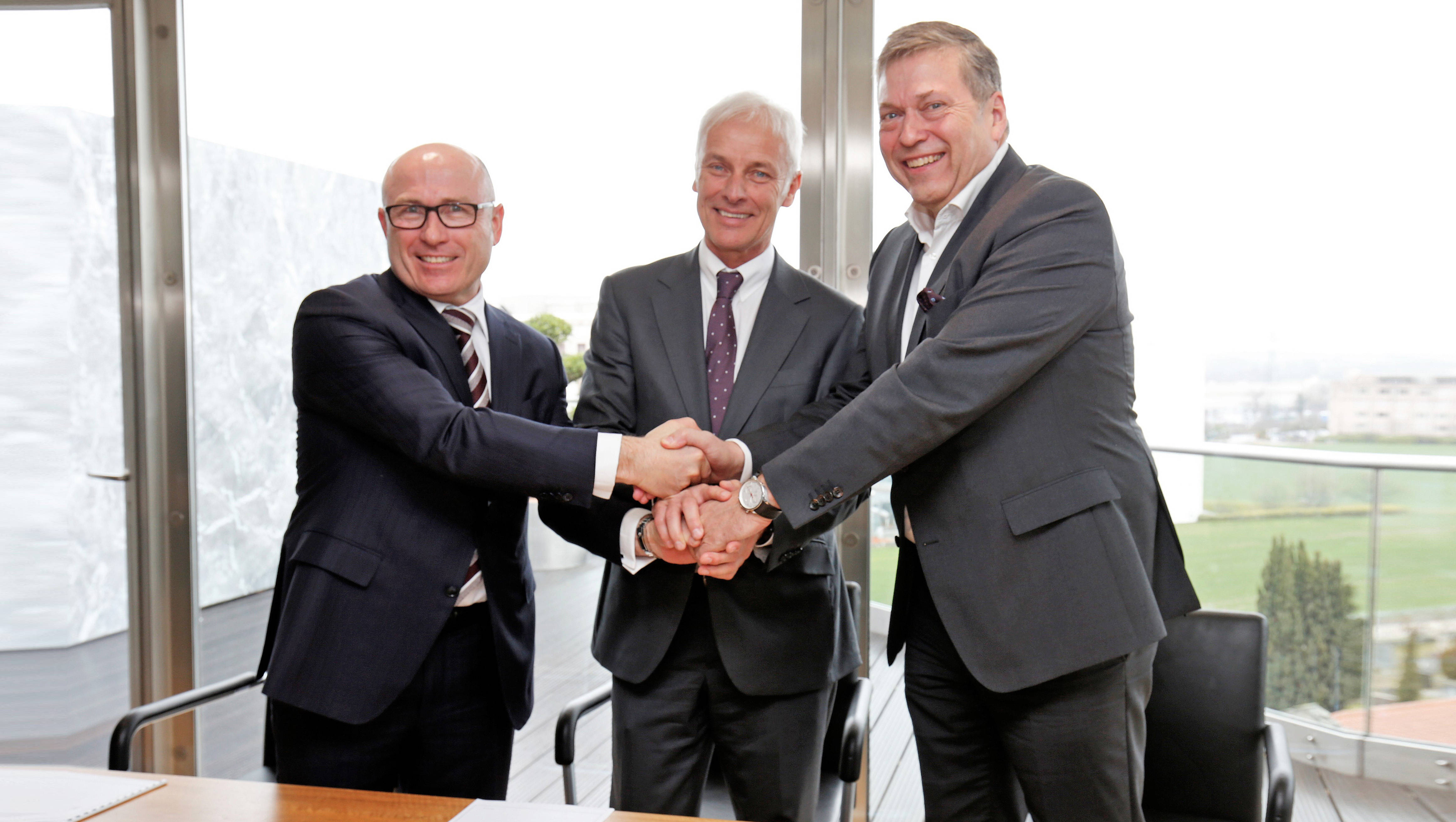 Tata Motors to jointly work with Volkswagen Group and Skoda for future products