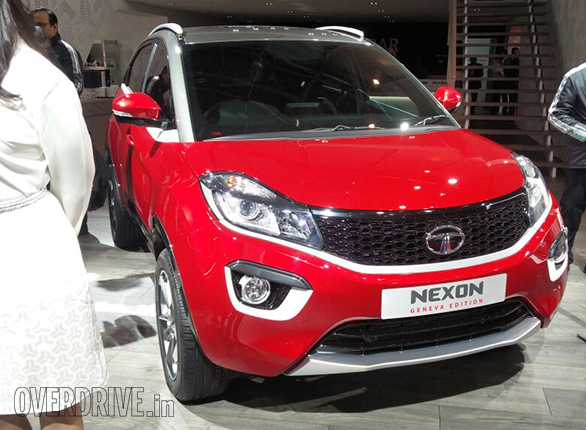 Spied Production Ready Tata Nexon Interior Overdrive