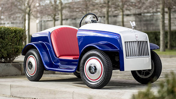 The Rolls-Royce SRH: Smallest Roller ever built