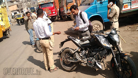 Mumbai Traffic Police receives order to stop unnecessary checking of documents