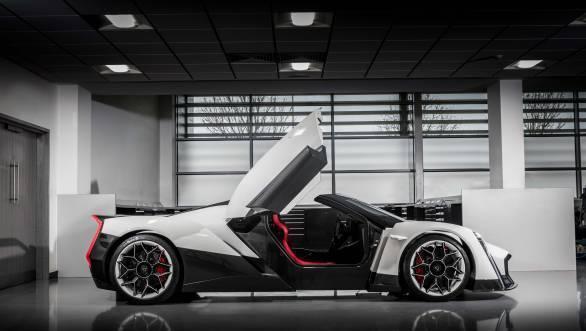2017 Geneva Motor Show: Vanda unveils Dendrobium hypercar concept