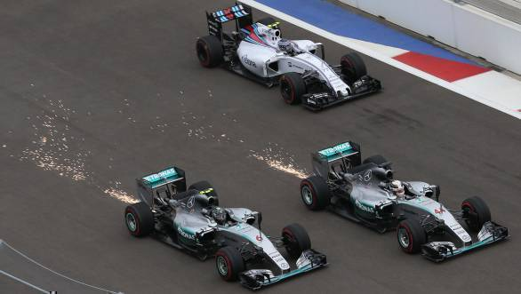 Video worth watching: The most dramatic moments of the 2016 Formula One season