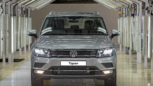 Volkswagen announces start of production for the Tiguan in India 2 (1)