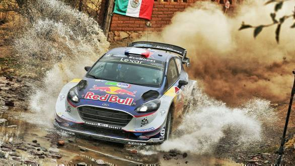 Second-place went to Seb Ogier for M-Sport