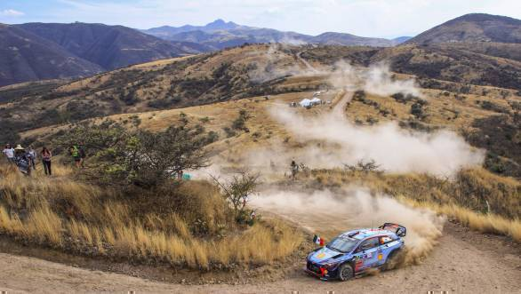Third place at Rally Mexico went to The