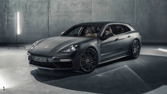 2017 Geneva Motor Show: India-bound Porsche Panamera Sport Turismo showcased