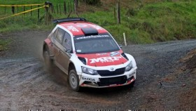 2017 APRC: Gaurav Gill loses lead at Rally of Whangarei due to damper issues on his Fabia R5