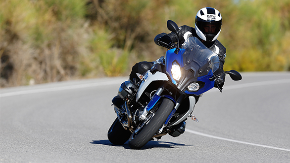 BMW says the bike offers a mix of riding dynamics and touring suitability.