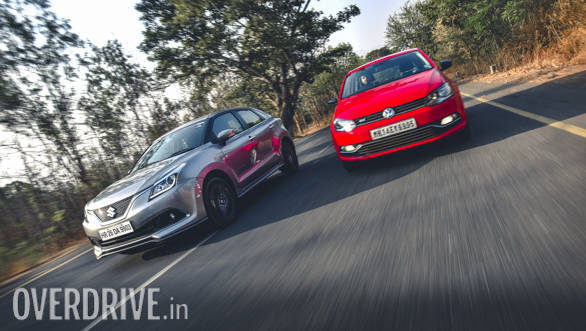 Comparison: Maruti Suzuki Baleno RS vs Volkswagen Polo GT TSI