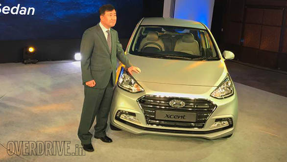 2017 Hyundai Xcent facelift launched in India at Rs 5.38 lakh