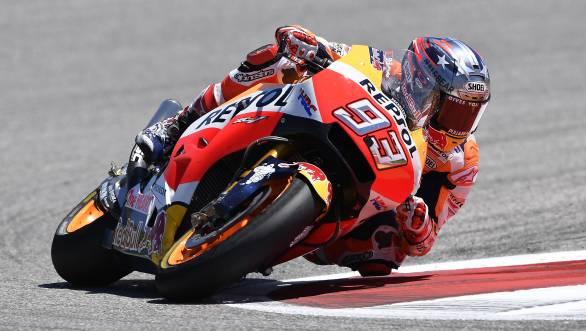 2017 MotoGP Marc Marquez COTA 1