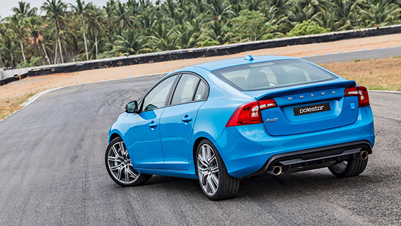 volvo s60 polestar launched in india at rs 52 5 lakh overdrive. Black Bedroom Furniture Sets. Home Design Ideas
