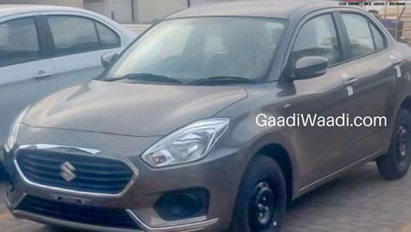 Spied: 2017 Maruti Suzuki Swift Dzire spotted undisguised ahead of India launch
