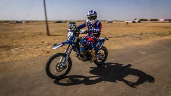 Will be supported by TVS Racing for the 2017 Merzouga Rally and 2018 Dakar Rally